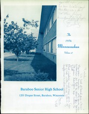 Page 5, 1976 Edition, Baraboo High School - Minnewaukan Yearbook (Baraboo, WI) online yearbook collection