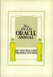 Page 9, 1926 Edition, Bay View High School - Oracle Yearbook (Milwaukee, WI) online yearbook collection
