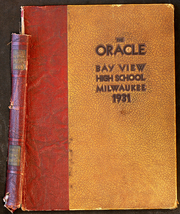 Page 1, 1931 Edition, Bay View High School - Oracle Yearbook (Milwaukee, WI) online yearbook collection