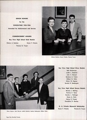 Page 122, 1956 Edition, Bay View High School - Oracle Yearbook (Milwaukee, WI) online yearbook collection