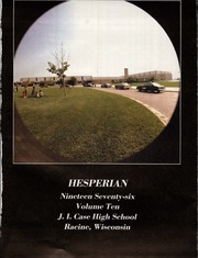 Page 8, 1976 Edition, Case High School - Hesperian Yearbook (Racine, WI) online yearbook collection