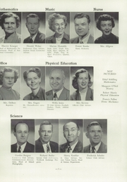 Page 13, 1950 Edition, West High School - Westward Ho Yearbook (Madison, WI) online yearbook collection