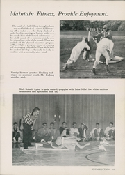 Page 15, 1961 Edition, West High School - Westward Ho Yearbook (Madison, WI) online yearbook collection