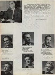 Page 10, 1961 Edition, East High School - East Echoes Yearbook (Green Bay, WI) online yearbook collection