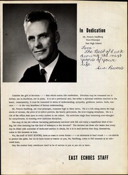 Page 9, 1963 Edition, East High School - East Echoes Yearbook (Green Bay, WI) online yearbook collection