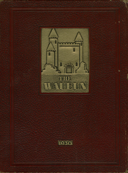 Page 1, 1930 Edition, Waupun High School - Waubun Yearbook (Waupun, WI) online yearbook collection