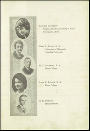 Page 11, 1922 Edition, Beaver Dam High School - Beaver Log Yearbook (Beaver Dam, WI) online yearbook collection