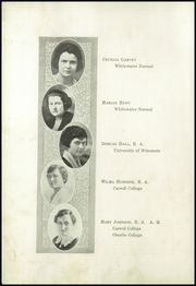 Page 12, 1922 Edition, Beaver Dam High School - Beaver Log Yearbook (Beaver Dam, WI) online yearbook collection