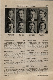 Page 13, 1935 Edition, Beaver Dam High School - Beaver Log Yearbook (Beaver Dam, WI) online yearbook collection