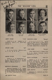 Page 14, 1935 Edition, Beaver Dam High School - Beaver Log Yearbook (Beaver Dam, WI) online yearbook collection