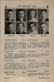 Page 15, 1935 Edition, Beaver Dam High School - Beaver Log Yearbook (Beaver Dam, WI) online yearbook collection
