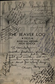 Page 5, 1935 Edition, Beaver Dam High School - Beaver Log Yearbook (Beaver Dam, WI) online yearbook collection