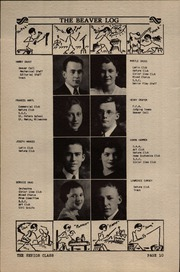 Page 16, 1936 Edition, Beaver Dam High School - Beaver Log Yearbook (Beaver Dam, WI) online yearbook collection