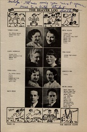 Page 17, 1936 Edition, Beaver Dam High School - Beaver Log Yearbook (Beaver Dam, WI) online yearbook collection