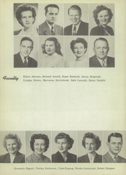 Page 8, 1949 Edition, Beaver Dam High School - Beaver Log Yearbook (Beaver Dam, WI) online yearbook collection