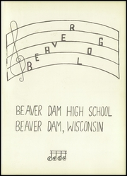 Page 5, 1954 Edition, Beaver Dam High School - Beaver Log Yearbook (Beaver Dam, WI) online yearbook collection