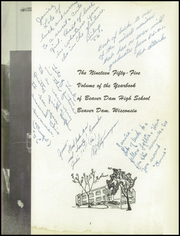 Page 7, 1955 Edition, Beaver Dam High School - Beaver Log Yearbook (Beaver Dam, WI) online yearbook collection