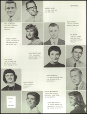 Page 16, 1959 Edition, Beaver Dam High School - Beaver Log Yearbook (Beaver Dam, WI) online yearbook collection