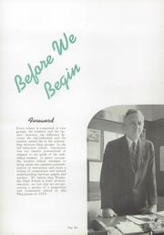 Page 10, 1939 Edition, Waukesha High School - Megaphone Yearbook (Waukesha, WI) online yearbook collection