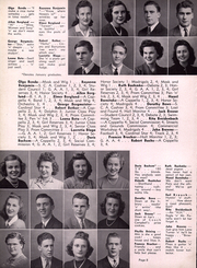 Page 12, 1942 Edition, Waukesha High School - Megaphone Yearbook (Waukesha, WI) online yearbook collection
