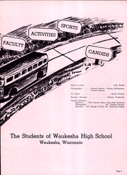 Page 7, 1942 Edition, Waukesha High School - Megaphone Yearbook (Waukesha, WI) online yearbook collection