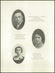 Page 16, 1923 Edition, West Bend High School - Bend Yearbook (West Bend, WI) online yearbook collection