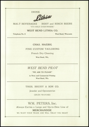 Page 111, 1927 Edition, West Bend High School - Bend Yearbook (West Bend, WI) online yearbook collection