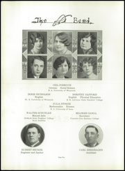Page 16, 1930 Edition, West Bend High School - Bend Yearbook (West Bend, WI) online yearbook collection