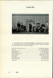 Page 16, 1934 Edition, West Bend High School - Bend Yearbook (West Bend, WI) online yearbook collection