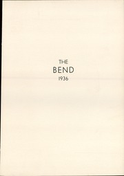 Page 5, 1936 Edition, West Bend High School - Bend Yearbook (West Bend, WI) online yearbook collection