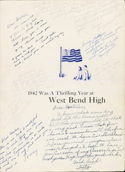 Page 5, 1942 Edition, West Bend High School - Bend Yearbook (West Bend, WI) online yearbook collection