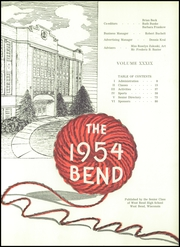 Page 5, 1954 Edition, West Bend High School - Bend Yearbook (West Bend, WI) online yearbook collection
