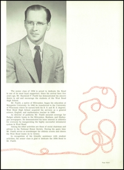 Page 7, 1954 Edition, West Bend High School - Bend Yearbook (West Bend, WI) online yearbook collection