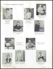 Page 15, 1957 Edition, West Bend High School - Bend Yearbook (West Bend, WI) online yearbook collection