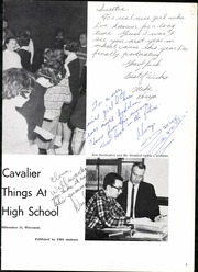 Page 7, 1963 Edition, Pulaski High School - Cavalier Yearbook (Milwaukee, WI) online yearbook collection