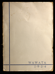 1934 Edition, Ashland High School - Wawata Yearbook (Ashland, WI)