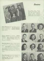 Page 14, 1947 Edition, Ashland High School - Wawata Yearbook (Ashland, WI) online yearbook collection