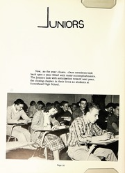 Page 20, 1961 Edition, Arrowhead High School - Warhawk Yearbook (Hartland, WI) online yearbook collection