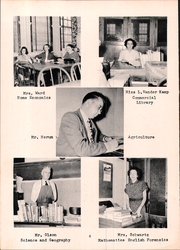 Page 12, 1952 Edition, Osseo Fairchild High School - Chieftain Yearbook (Osseo, WI) online yearbook collection