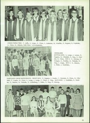 Page 17, 1969 Edition, Osseo Fairchild High School - Chieftain Yearbook (Osseo, WI) online yearbook collection