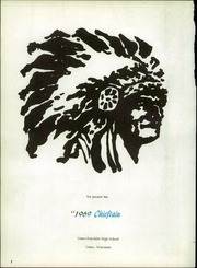 Page 6, 1969 Edition, Osseo Fairchild High School - Chieftain Yearbook (Osseo, WI) online yearbook collection