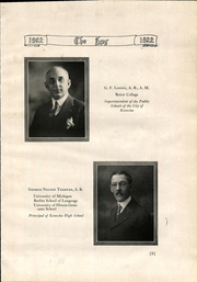 Page 15, 1922 Edition, Kenosha High School - Spy Yearbook (Kenosha, WI) online yearbook collection