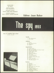 Page 5, 1953 Edition, Kenosha High School - Spy Yearbook (Kenosha, WI) online yearbook collection