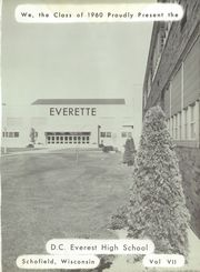 Page 5, 1960 Edition, D C Everest High School - Everette Yearbook (Schofield, WI) online yearbook collection