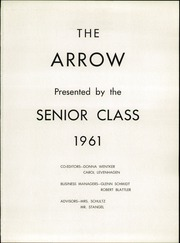 Page 5, 1961 Edition, Mishicot High School - Arrow Yearbook (Mishicot, WI) online yearbook collection