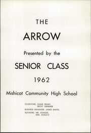 Page 5, 1962 Edition, Mishicot High School - Arrow Yearbook (Mishicot, WI) online yearbook collection