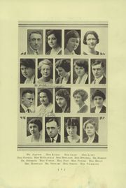 Page 11, 1923 Edition, Madison East High School - Tower Tales Yearbook (Madison, WI) online yearbook collection