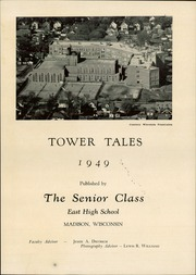Page 5, 1949 Edition, Madison East High School - Tower Tales Yearbook (Madison, WI) online yearbook collection