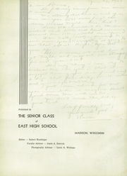 Page 6, 1952 Edition, Madison East High School - Tower Tales Yearbook (Madison, WI) online yearbook collection
