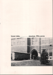 Page 5, 1957 Edition, Madison East High School - Tower Tales Yearbook (Madison, WI) online yearbook collection